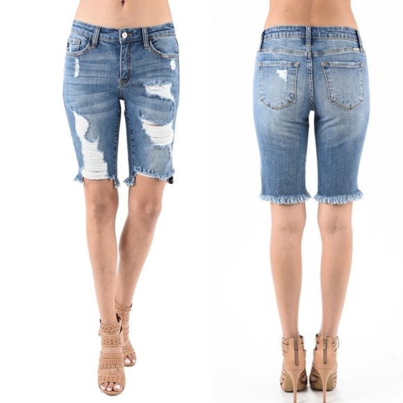27117ee0566e KanCan Shorts   Nwt Jeans Keviacamino Distressed   Poshmark